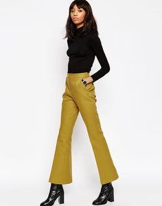 6 Ways To Style Next Season's Big Thing: Kick Flare Trousers — Bloglovin'—the Edit