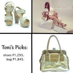#tonigonzaga #tonigonzagaforledonne #ToniGonzaga #ledonne #shoes #bags #accessories #manila #philippines #showbiz