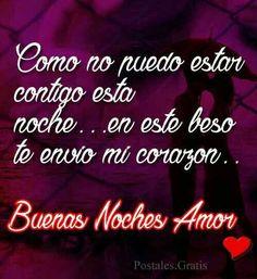 Tarjetas De Amor Lindas Buenas Noches Con Amor Noni Noni