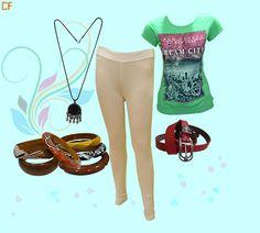 #new #fashion   #tshirtsonline   #womenteshirts #beltsforgirls #junk   #jewellery #bangles   #wooden   #style   #stylish   #dayout   #chiclook #leggings   #leggingsforwomen #onlinestore   #onlineshopping #droomfashion    To get this look visit us at http://www.droomfashion.com/