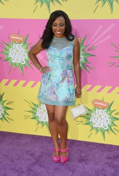 Best Red Carpet Moments From The Kids Choice Awards 2013
