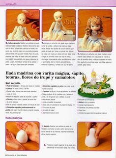 como hacer pasteles infantiles paso a paso | Revistas de manualidades gratis Polymer Clay Sculptures, Sculpture Clay, Clay Crafts, Arts And Crafts, Clay Food, Panel Art, Gum Paste, Art Tutorials, Dollhouse Miniatures