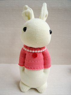 Sock Domy Rabbit