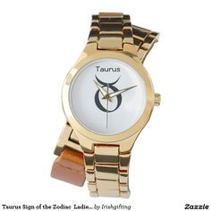 Taurus Sign of the Zodiac  Ladies Watches. Wrist Watches