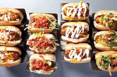 Rethink the #hotdog at #Rockhouse with #VCard!   #Vegas #Foodie