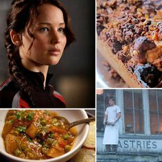 Healthy recipes inspired by the Hunger Games! From Katniss' favorite Capitol dish to Mrs. Everdeen's breakfast mush, see which foods kept the characters going through this dark tale of survival. #HungerGames