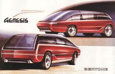 Lamborghini Genesis Concept (Bertone) (1988)