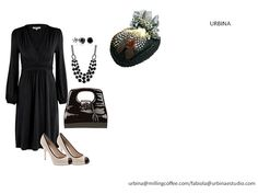 Outfit super elegante y chic.
