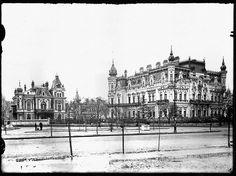 Palatul Sturdza demolat in 1940 Bucharest Romania, Cathedral, Louvre, Memories, Building, Travel, Memoirs, Souvenirs, Viajes