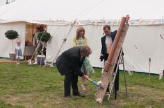 Boho Planned Weddings: Rachel and Kevin's DIY village fete wedding