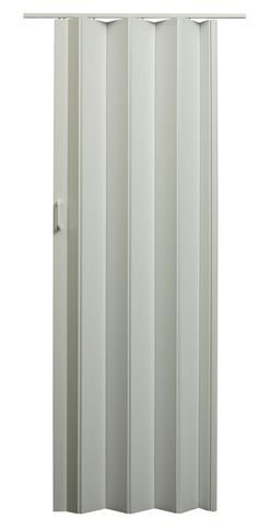 Features:  -Accordion door design is ideal for closets and tight spaces.  -Can be trimmed in height.  -Crafted of energy efficient double-walled vinyl panels with flexible vinyl hinges.  -Interior use