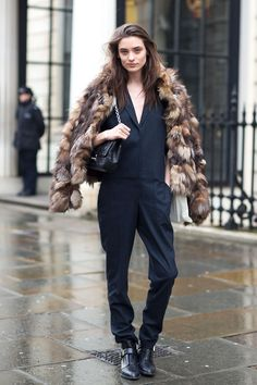 London Town: <i>Street Style</i> Fall 2014
