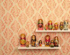 """Ivy Paisley"" wallpaper pattern from Galbraith & Paul"