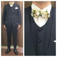 collarless suit.  ノーカラースリーピースにフラワー蝶ネクタイ。 . . .  オーダーメイド製品はlifestyleorderへ。 . . .  all made in JAPAN . . .  素敵な結婚式の写真を@lso_wdにアップしました。 . . .  wedding photo…@lso_wd womens...@lso_andc  #ライフスタイルオーダー#オーダースーツ目黒#結婚式#カジュアルウエディング#ナチュラルウエディング#レストランウエディング#結婚準備#新郎衣装#新郎#プレ花嫁#メンズファッション#ノーカラースーツ#プリザーブドフラワー  #lifestyleorder#japan#meguro#photooftheday#instagood#wedding#tailor#snap#mensfashion#menswear#follow#ootd#odd#bridal#suit
