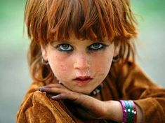 "Beautiful Red-headed ""Tora Bora Girl"" from the Pashtun Bani-Israelites in Afghanistan The major region where the populous Lost Ten Tribes were sent into exile included the region of Khurasan, which includes Northern Iran, Eastern Afghanistan and Western Pakistan. The Pashtun Tribes of Bani-Israel are the remnant of these tribes who still live in this region."