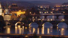 Prague bridges   by Lukas Krasa Prague Czech Republic, Life Photography, Cinematography, Marina Bay Sands, Bridges, Storytelling, Explore, Landscape, Street