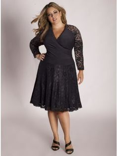 Marcela Lace Plus Size Skirt