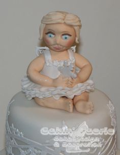 For the Little Ones 2016 Snow Fairy Christmas Cake - Cake by Suzanne Readman - Cakin' Faerie