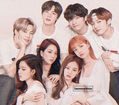 Kpop Couples, Cute Couples, Blackpink Video, Fandom Kpop, Black Pink Kpop, Bts Girl, Blackpink Photos, Blackpink And Bts, Album Bts