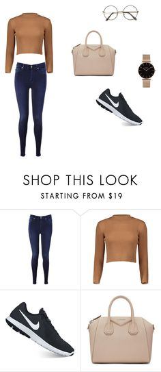 """Basic"" by nickey-mouse on Polyvore featuring 7 For All Mankind, NIKE, Givenchy and CLUSE"