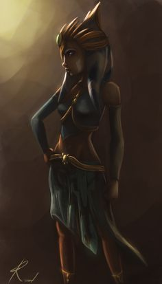 star wars ahsoka tano art - Google Search