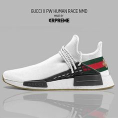 Original Pin: 'Gucci X Pharrell Human Race NMD' Cop = Drop = - Tag someone who would want these