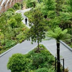 Crossrails Station Roof Garden by Gillespies « Landscape Architecture Works Extensive Green Roof, Green Roof System, Roofing Systems, Parcs, Contemporary Landscape, Garden Projects, Garden Ideas, Plant Design, Landscape Architecture