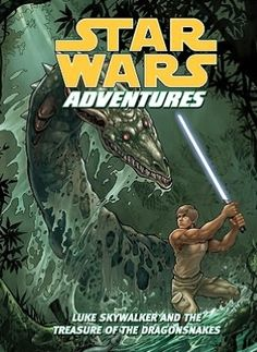 Star Wars Adventures: Luke Skywalker and the Treasure of the Dragonsnakes  by Tom Taylor, Daxiong (Artist)