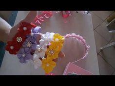 Como fazer flor de orquídea para aplique em tiaras - DIY, PAP ( by Milka Tropiano) - YouTube