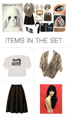 """""""If I Was In American Horror Story Asylum"""" by kaninekiller ❤ liked on Polyvore featuring art"""