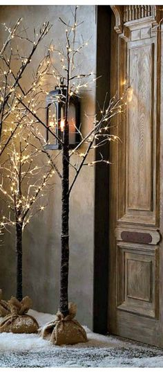 Like the rustic look at Christmas? Don't forget, B&M have a great range of non-traditional trees, like this Snowy LED Twig Tree: http://www.bmstores.co.uk/products/snowy-twig-tree-6ft-292296
