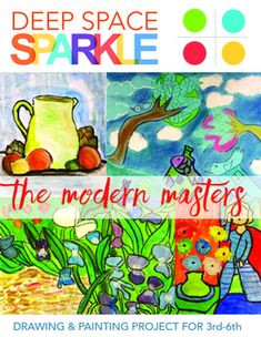 Modern masters art projects for grades by deep space sparkle Art Lessons, Modern Masters, Group Of Seven Paintings, Artist Style, Master Drawing, Art, Painting Projects, Art History, Popular Artists