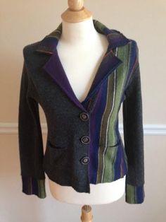 Anthropologie Medium Reading Chair Cardigan Sweater Jacket Blazer Sparrow  Rare #AnthropologieSparrow #Cardigan