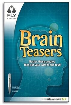 FLY Fusion™ Brain Teasers by LeapFrog. $3.00. From the Manufacturer                This game pad works only with the FLY Fusion Pentop Computer, and is not compatible with FLY 1.0. Make your down time… FLY! With mind-bending puzzles, word challenges and matching games, you can put your wits to the test. Play anywhere and everywhere (this is a game pad and doesn't need FLY™ Paper)!  Perfect for car time, study breaks and in between classes. What you Get * FLY Fu...