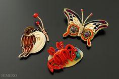 つまみ細工・かんざし Kanzashi ● silk art HIMEKO  facebookpage…