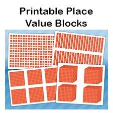 Place Value Activities, Place Value Worksheets, Math Place Value, Place Values, Math Manipulatives, Math Fractions, Maths, Math Math, Guided Math
