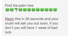 I need the luck