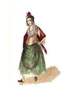 Madame Thenardier Costume design