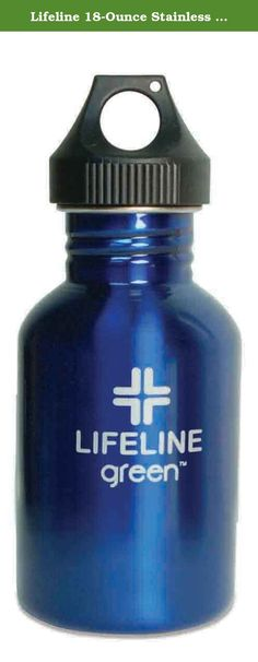 Lifeline 18-Ounce Stainless Steel Colored Bottles, Blue. Keep yourself hydrated with the Lifeline stainless steel water bottle, which now comes in a variety of colors. Lifeline SS bottles are made from #304 stainless steel, the material of choice in the food processing, dairy, and brewery industries. Stainless steel is easy to clean, durable, inert, sanitary, toxin-free, and non-leaching. It's also toxin- and BPA-free and recyclable.