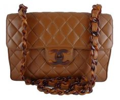 .Chanel bag with tortoise chain
