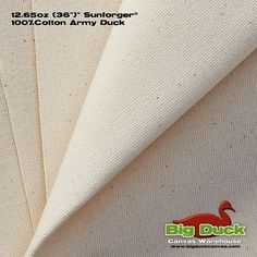 Sunforger® Army Duck Canvas Fabric | Wholesale | 12.5 oz. /36""