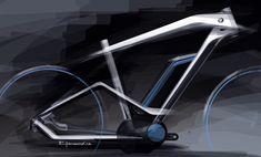 Rahmenentwurf BMW e-Bike Cruise 2014 / Foto: BMW