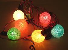 #vintage #snowball #christmas lights are another great item to sell on the holidays.  I once sold 100 of them @ $1.00 ea. #makemoney  www.armedtosell.com www.youtube.com/user/armedtosell