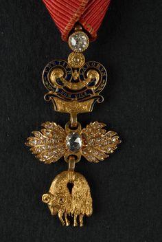 Order of the Golden Fleece (Austrian) - Miniature Insignia, Rothe, Vienna, prior to 1918 (obverse)