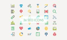 36 SEO Vector Icons (Freebie) #FreeIcon from http://ortheme.com