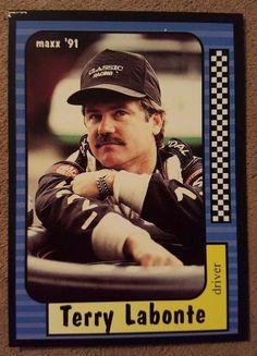 Maxx Collection Race Cards 1991 1990 Terry Labonte (Card #94 of 240) #MaxxCollectionRaceCards