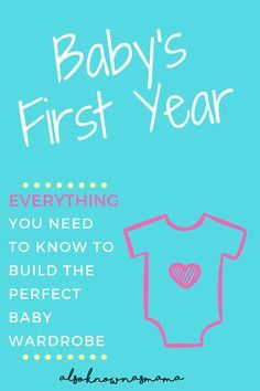 Baby's First Year | Guide to Buying Baby Clothes | What to Buy for Baby | Baby Shopping Guide | Perfect Baby Wardrobe