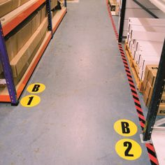 Floor Identification Markers A to Z & 0 to 15