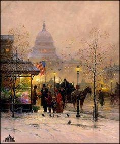 G. Harvey - A Nation Blessed - Image Zoom - Christ-Centered Art