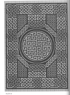 Celtic knots were used already in the 3rd century Roman Empire. It's mostly known as a Christian decoration style